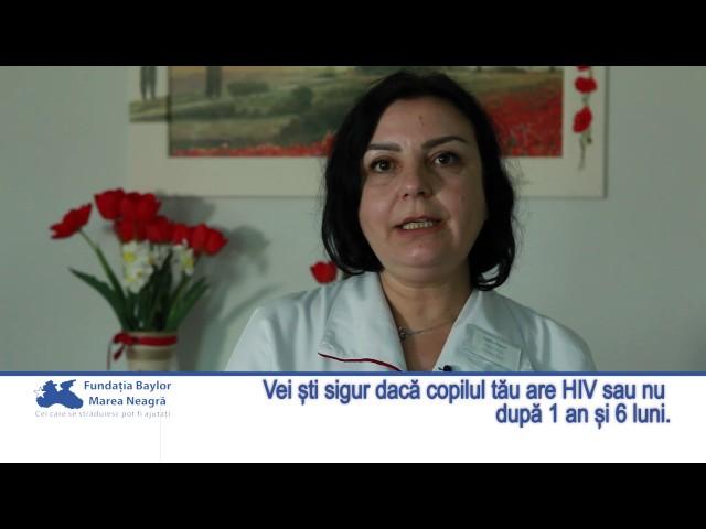 Când vei şti sigur dacă copilul tău are HIV sau nu