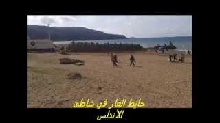 حائِط  العار  في شاطئ الأندلس- وهران -