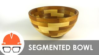 How Not To Make A Segmented Bowl On The Lathe (stop Motion)