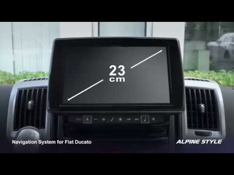 Stacja Nawigacyjna Fiat Ducato Alpine X902d Du Youtube