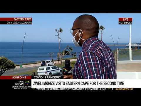 COVID-19 Lockdown   Health Minister tracks progress in the Eastern Cape