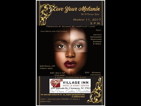 Love Your Melanin, Art & Design Gala