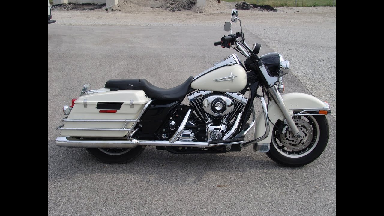 2005 harley davidson flhpi road king police youtube. Black Bedroom Furniture Sets. Home Design Ideas