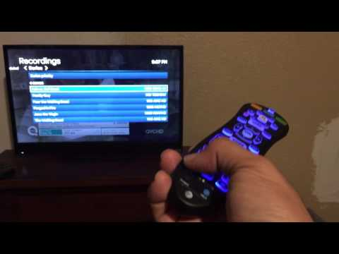 How to use U-verse recordings and remote control. Tips and tricks