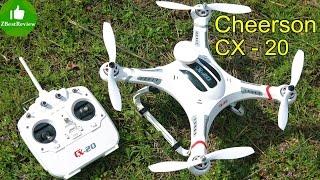 ✔ Cheerson CX-20 - Дешевий Квадрокоптер для Gopro. Частина 1. Розпакування, складання, калібрування. Gearbest