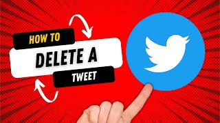 How to Tweet DELETE on Twitter - How to use Twitter for BEGINNERS!