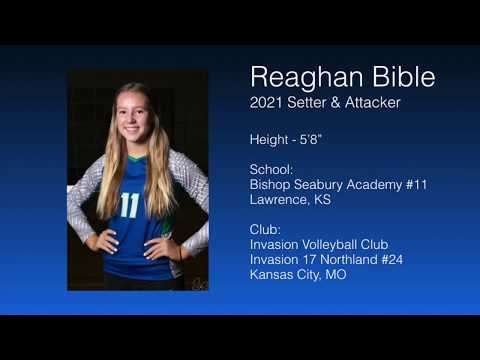2021 Setter & Attacker - Reaghan Bible Volleyball Highlights // Bishop Seabury Academy 2019