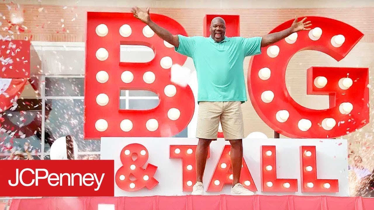 6a3afd0e4 Meet Shaq: Big and Tall Men's Fashion Ambassador | JCPenney - YouTube