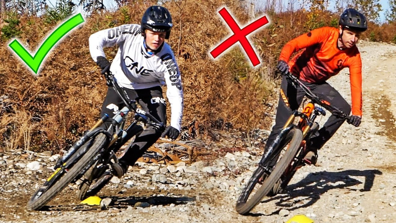 Pro Racer Reveals How To Corner A Mountain Bike