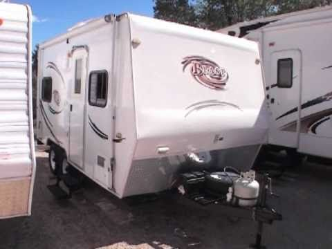 Coachmen Travel Trailers >> Fleetwood Blast 150MPH Toy Hauler Travel Trailer - YouTube