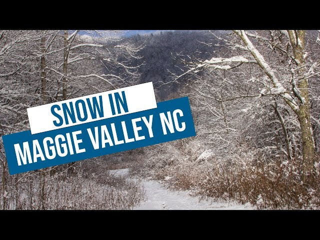Snow in Maggie Valley NC