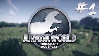 Minecraft Jurassic World - WELCOME TO JURASSIC WORLD - Ep 1 (Minecraft Roleplay)