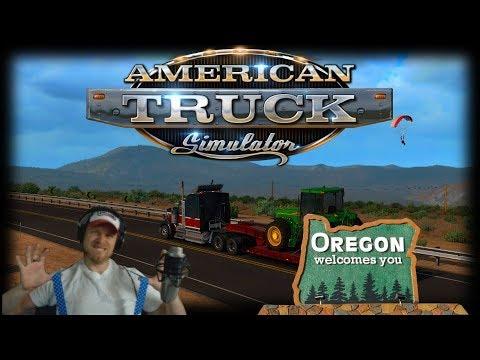 oregon dlc american truck simulator ep42 youtube. Black Bedroom Furniture Sets. Home Design Ideas