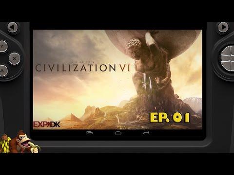 Civilization VI - O recomeço da série Ep 01