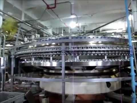 Tour of the Anheuser Busch Beer Factory in St. Louis, MO