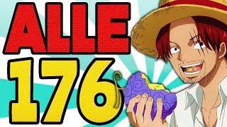 Alle 176 TEUFELSFRÜCHTE in One Piece AUFGEZÄHLT und ERKLÄRT🍈