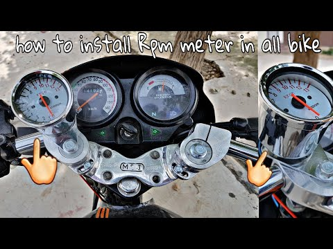 Honda Motorcycle Tachometer Wiring - Wiring Diagram Structure