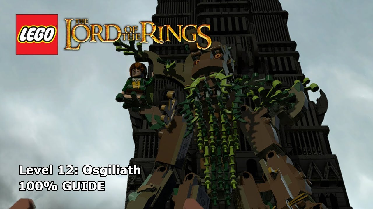 LEGO Lord Of The Rings Osgiliath 100% Guide