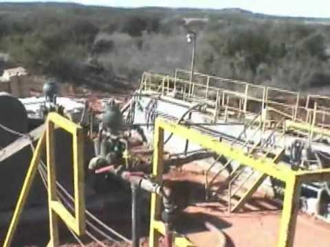 North American Drilling Corporation: TIX Well # 1 Drilling Video