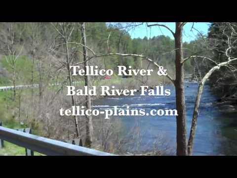 Tellico River & Bald River Falls - Tellico Plains TN