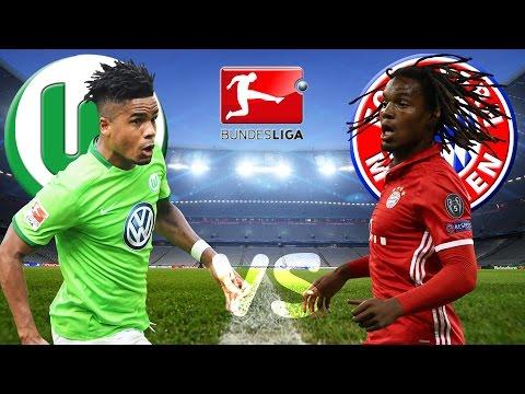 VFL WOLFSBURG vs FC BAYERN MÜNCHEN Bundesliga 29.04.2017