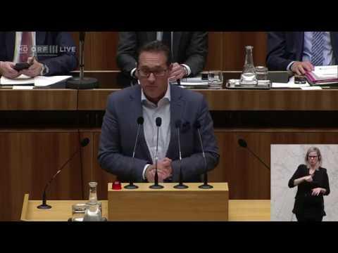 Heinz Christian Strache über das Versagen der EU