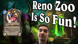 Reno ZooLock Is My New Favourite Deck! Saviors of Uldum Warlock Gameplay [Hearthstone]