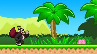 Киба и Кумба: Бег по джунглям (Kiba & Kumba: Jungle Run) // Геймплей
