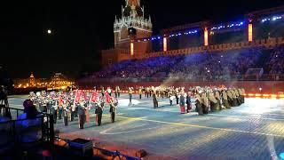 مشاركة فرقة موسيقى الحرس السلطاني العُماني والفرقة الخاصة في موسكو
