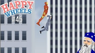 Happy Wheels Part 45 - IRON MAN SAVED ME