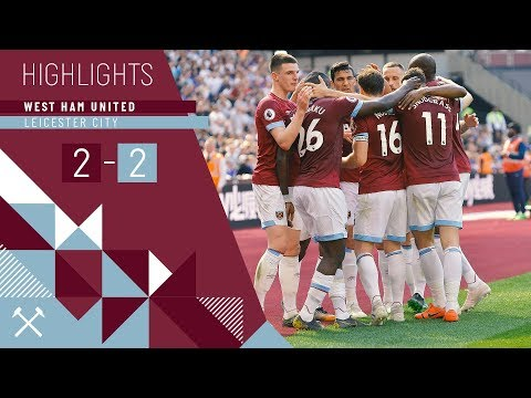 HIGHLIGHTS | WEST HAM UNITED 2-2 LEICESTER CITY