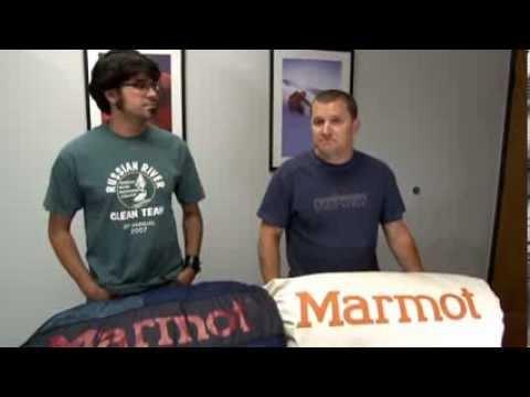 Уход за пуховыми и синтетическими спальными мешками Marmot.