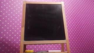 Как нарисовать веточку дерева видео урок от Диляры