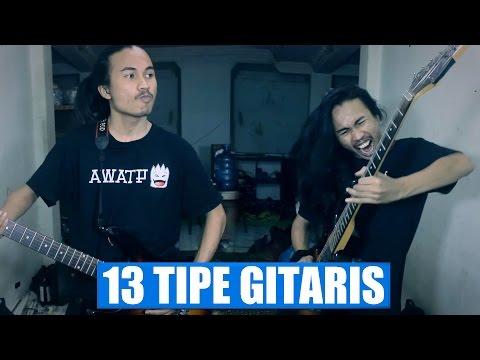13 style of playing guitar ( 13 tipe pemain gitar )