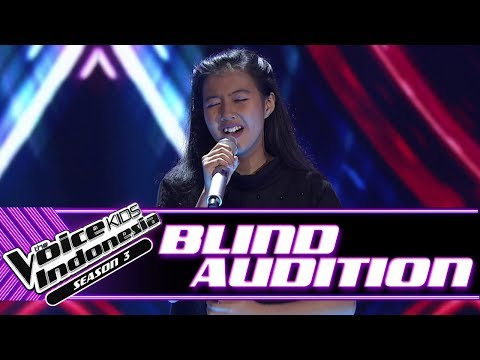 Echa - Hurt | Blind Auditions | The Voice Kids Indonesia Season 3 GTV 2018