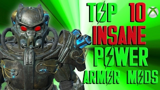 Fallout 4 Top 10 INSANE Power Armor Mods