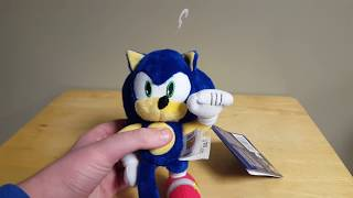 "TOMY Sonic the Hedgehog Collectors Series 8"" Modern Sonic Plush In-Hand Review!"