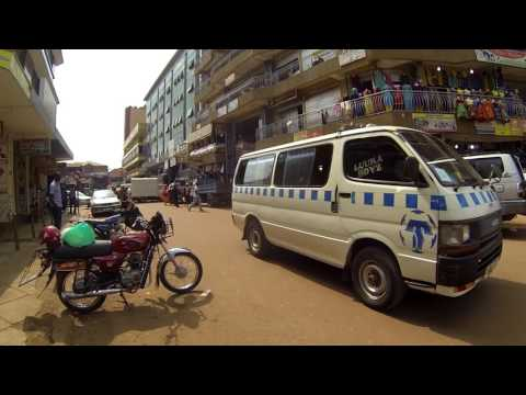 A Long Walk in Kampala, Uganda 2017