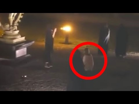 Did The Illuminati Sacrifice A Woman Outside CERN?