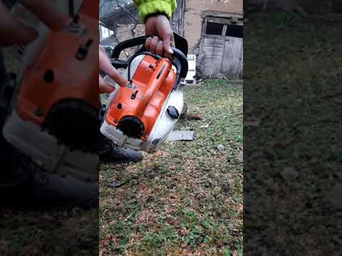 STIHL 08S 60cc In Action