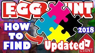 [EVENT] How To Get All Puzzle Pieces for Fifteam Egg Portal - Roblox Egg Hunt 2018 - Fractured Space