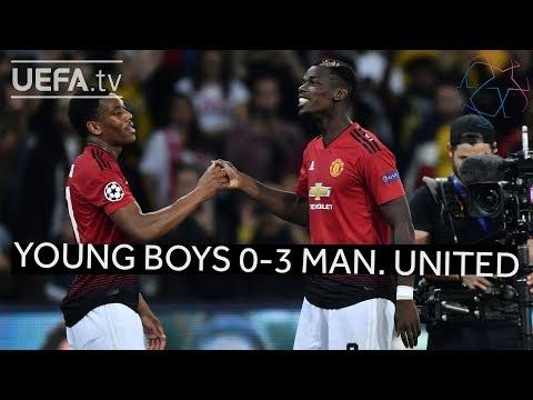 YOUNG BOYS 0-3 MAN. UNITED #UCL HIGHLIGHTS thumbnail
