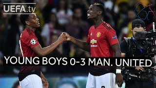 YOUNG BOYS 0-3 MAN. UNITED #UCL HIGHLIGHTS