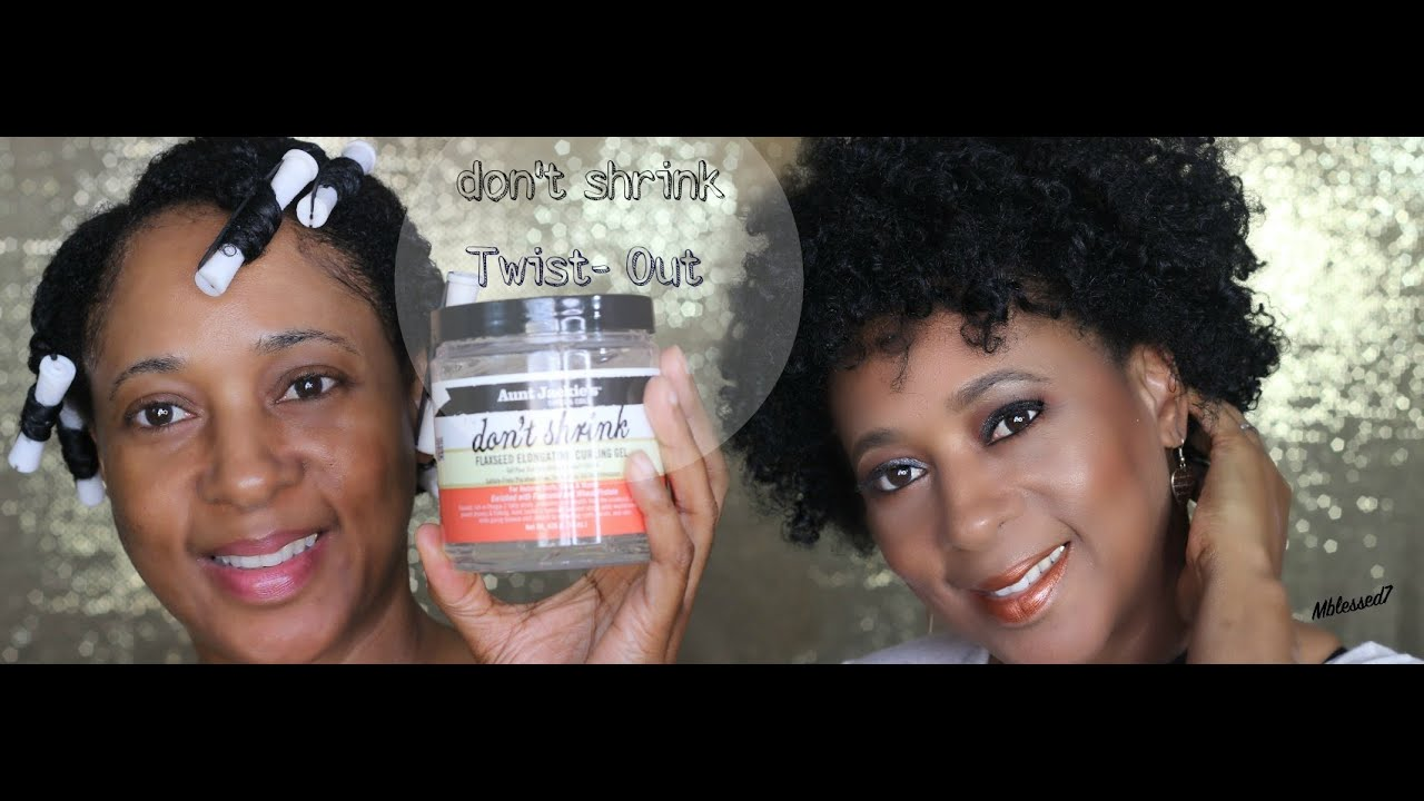 Natural Hair Twist Out On Fine Hair Aunt Jackies Don