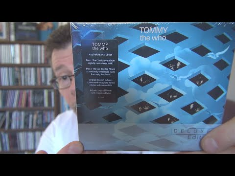 Download The Who Deluxe Edition CDs Unboxing- ASMR Mp4 baru