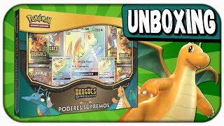 UNBOXING Box Poderes Supremos - Dragões Soberanos! - Pokémon TCG
