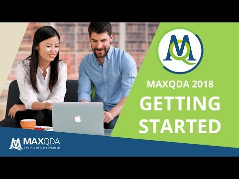 MAXQDA 2018 Video Tutorials - MAXQDA - The Art of Data