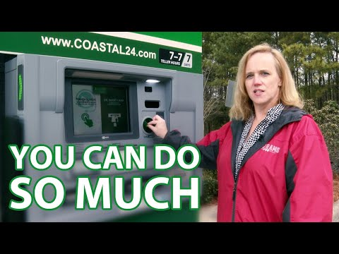 How To Use Our Drive-Up ATM/Personal Teller Machine