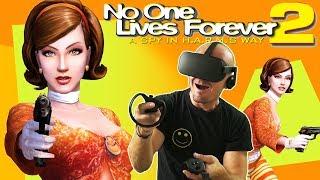 NO ONE LIVES FOREVER 2 VR MOD | NOLF 2 VR Oculus Rift TPCAST Gameplay Part 1