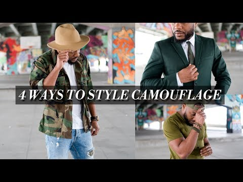 4 Ways To Style  Camouflage